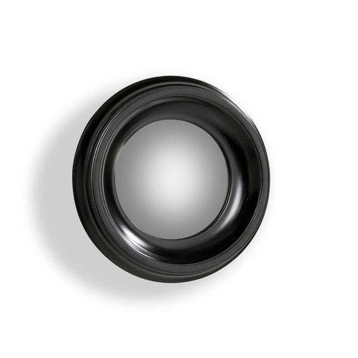Espejo redondo habel con la marco negro di metro 40 cm for Espejo redondo negro