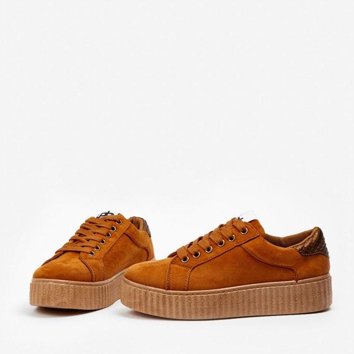 Basket anabelle camel beige Lpb Shoes ...