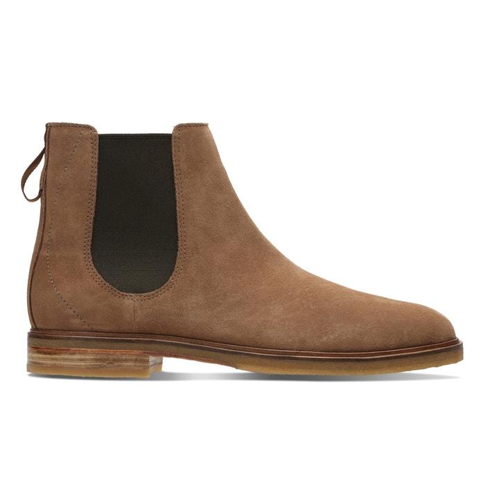 afbeelding Boots in leer chelsea Clarkdale Gobi CLARKS