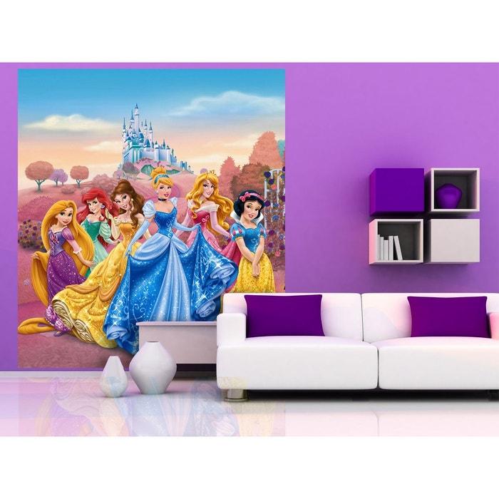 Papier Peint Xl Chateau Princesse Disney 180x202 Cm Multicolor