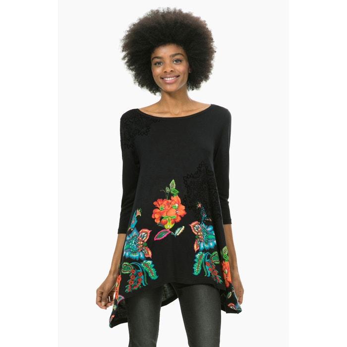 T-shirt comprida, estampada, TS Ramona DESIGUAL