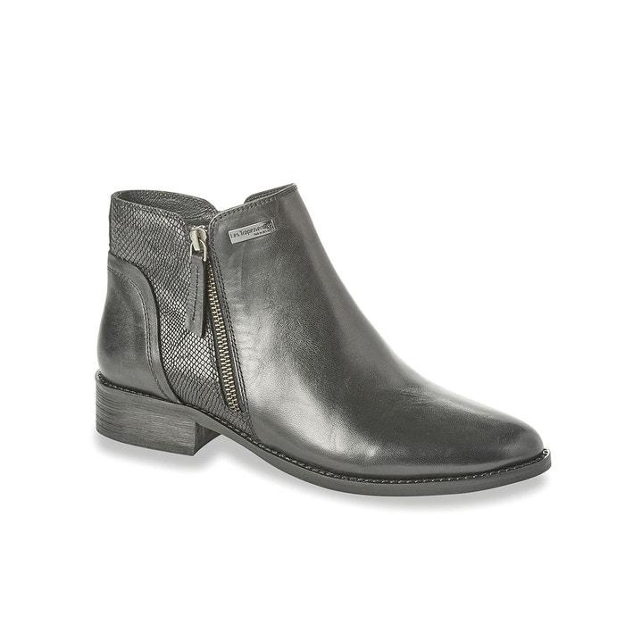 Boots cuir network noir Les Tropeziennes Par M Belarbi ...
