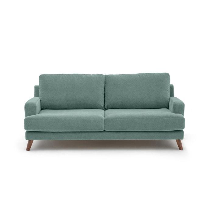 canap fixe manwel velours stonewashed e gallina am pm la redoute. Black Bedroom Furniture Sets. Home Design Ideas