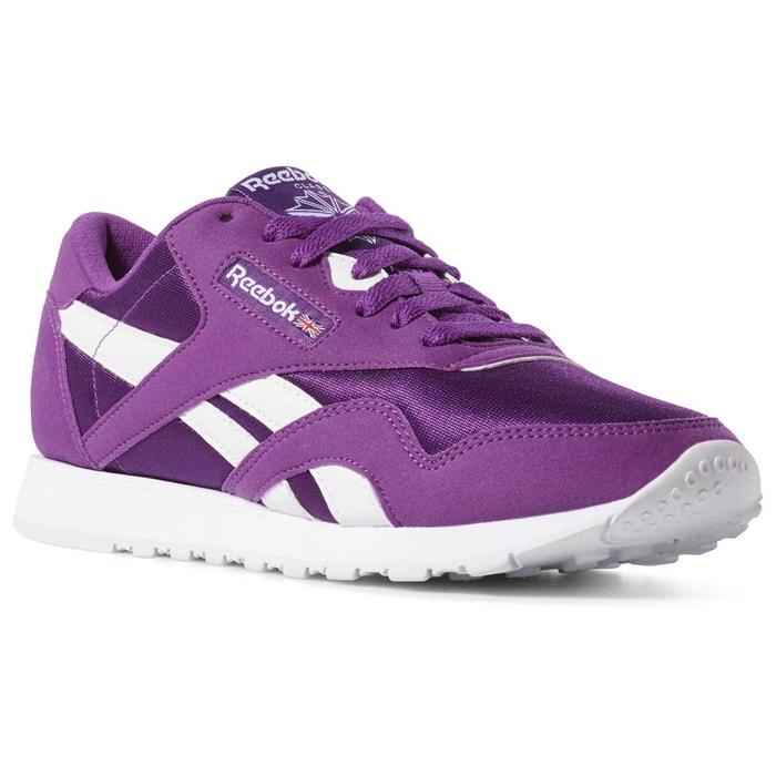 ea6b6589e51bb Classic nylon color violet Reebok Classics