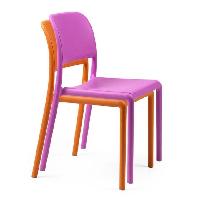 Chaise de jardin colorée & design riva bistrot Nardi | La Redoute