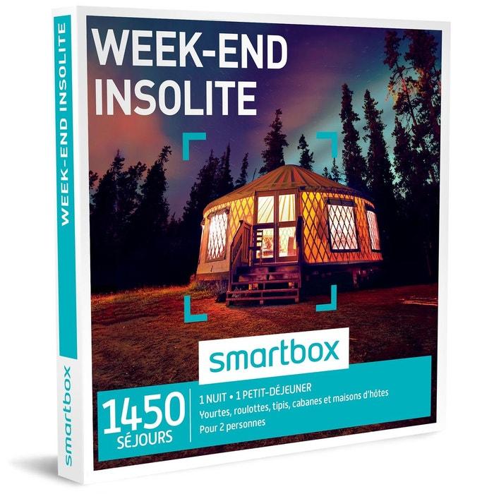 week end insolite coffret cadeau couleur unique smartbox la redoute. Black Bedroom Furniture Sets. Home Design Ideas