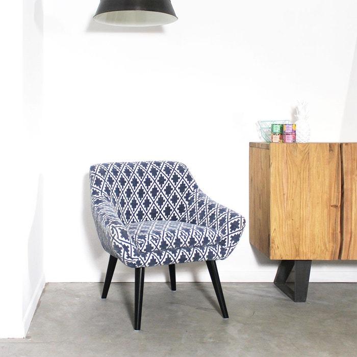 Fauteuil contemporain tissu | HG45