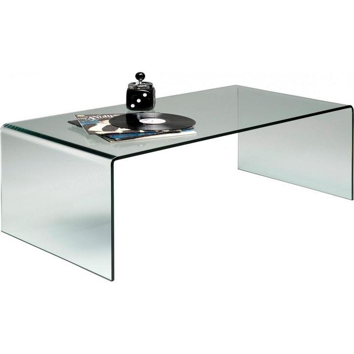 table basse clear club basic 120x60cm kare design couleur unique kare design la redoute. Black Bedroom Furniture Sets. Home Design Ideas