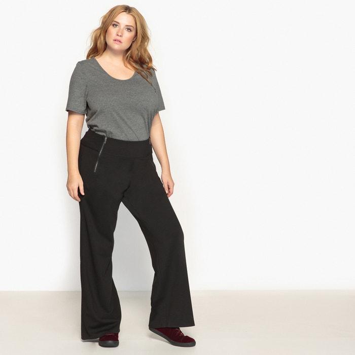 Image Pantalon large en maille milano CASTALUNA