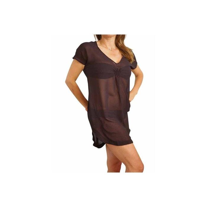 Tunique Guess Beachwear kaftan noir GUESS image 0. Ce produit a bien été  ajouté à votre liste de préférés. 0f370c05bfdb