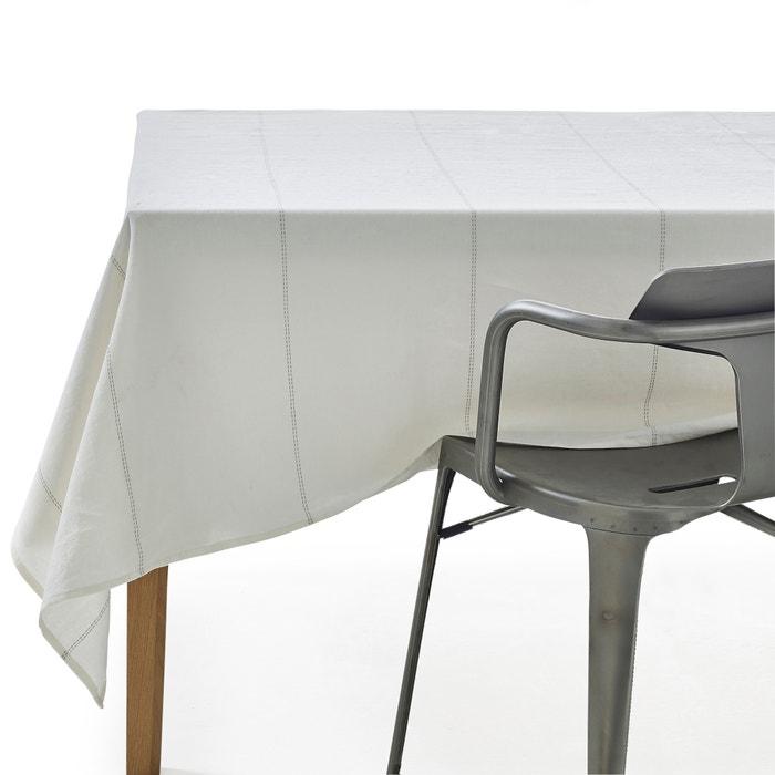 Sororal linen tablecloth am pm la redoute - Table basse la redoute ampm ...