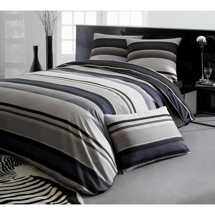 housse de couette taie kingston tailles et d clinaisons housse de couette 140x200 1 taie. Black Bedroom Furniture Sets. Home Design Ideas