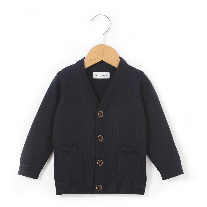Boys' Regular Cotton Cardigan  La Redoute Collections image 0