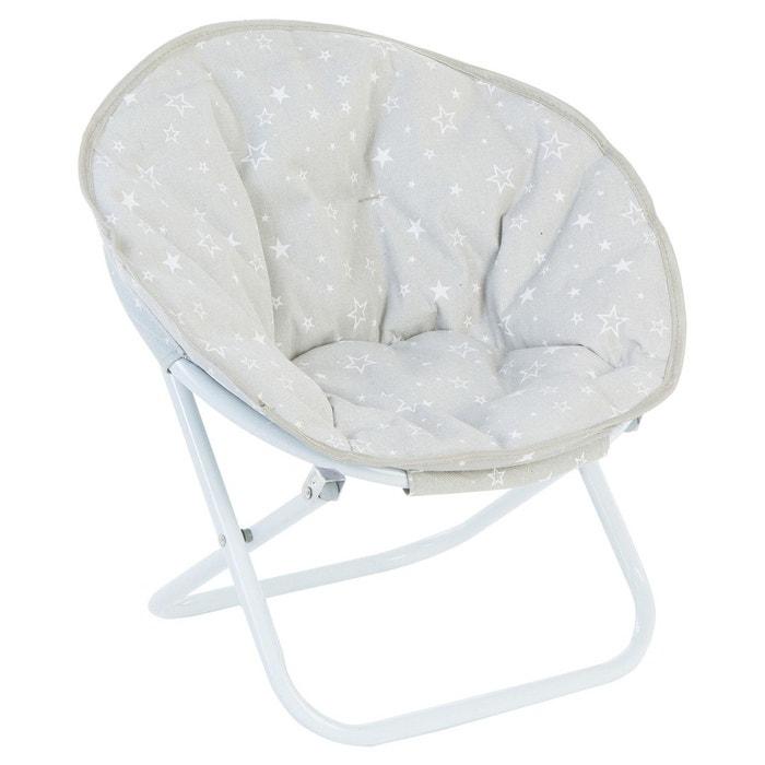 fauteuil pliant enfant g n ration gris gris atmosphera la redoute. Black Bedroom Furniture Sets. Home Design Ideas