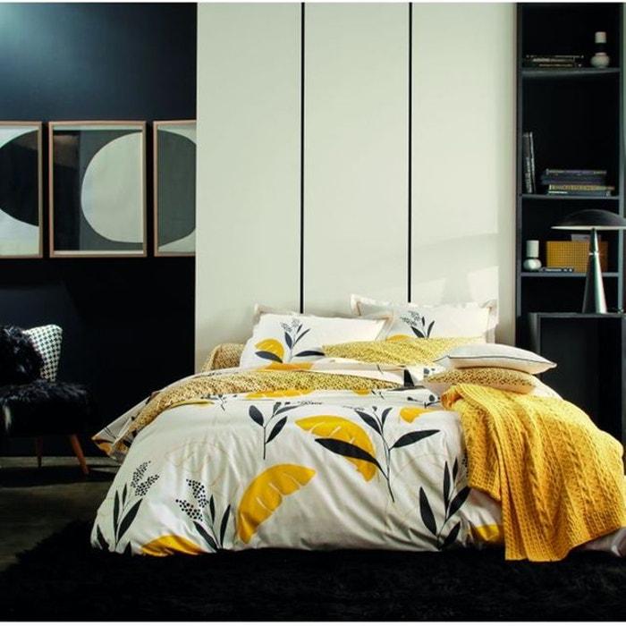 housse de couette valauris bouton d 39 or blanc des vosges la redoute. Black Bedroom Furniture Sets. Home Design Ideas