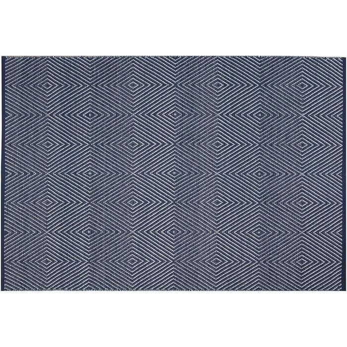 Tapis Intérieur Extérieur Zen Bleu Et Blanc Bleu Jardindeco La Redoute