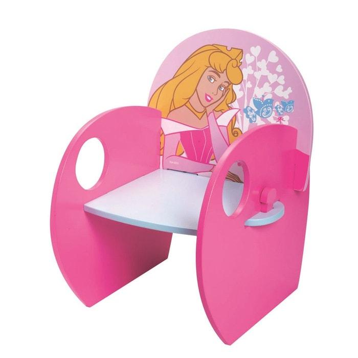 Princesses fauteuil bois rose fun house la redoute - Fauteuil peppa pig jouet club ...