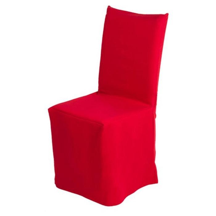 housse de chaise pli creux pampa madura la redoute. Black Bedroom Furniture Sets. Home Design Ideas