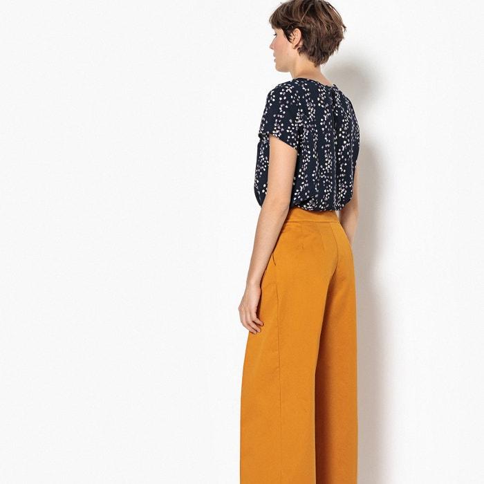 ONLY con cuello y manga redondo Blusa corta r8qwz1rF