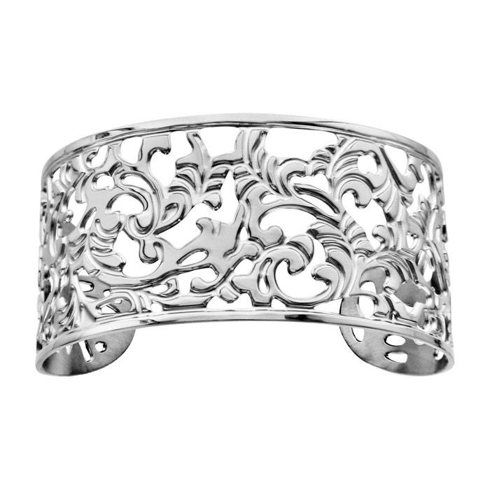 Bracelet manchette fantaisie acier inoxydable couleur unique So Chic Bijoux | La Redoute Acheter En Ligne Authentique 5eRZ16ZIL