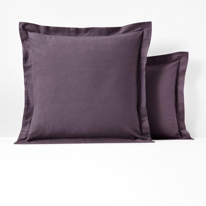Fronha de almofada ou de travesseiro, em flanela, SCENARIO  La Redoute Interieurs image 0