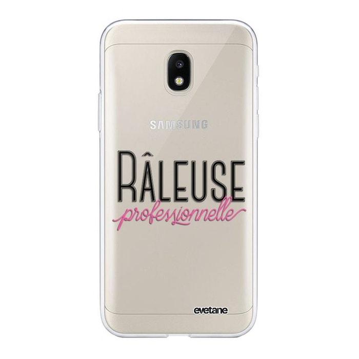 Coque Samsung Galaxy J3 2017 avant arrière transparente