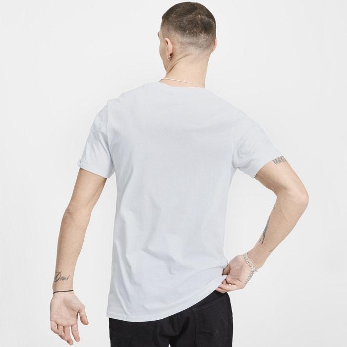 redondo estampado corta con JACK delante de manga cuello amp; y JONES Camiseta XxwX64q71