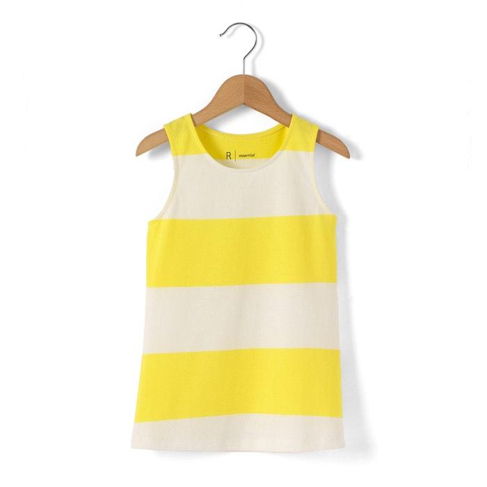 Imagen de Camiseta sin mangas a rayas con cuello redondo 3-12 años R essentiel