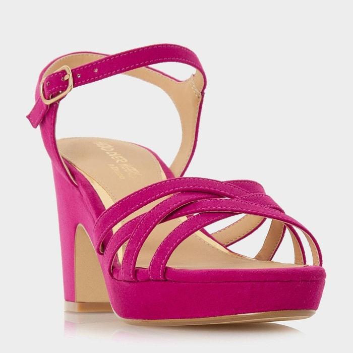 Sandales à brides et semelles compensées en liège LIQUIDATION Jeu Style De Mode Vente Geniue Stockiste Pré Commande Rabais jnVbid15