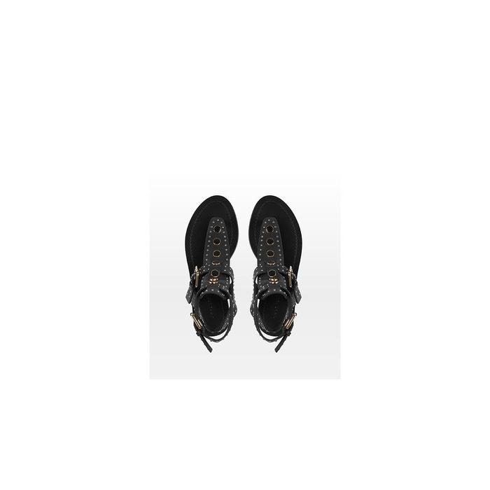 Sandales-azur noir What For