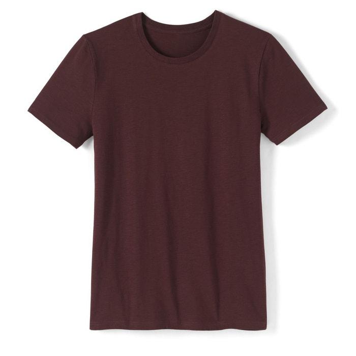 T-shirt col rond pur coton La Redoute Collections