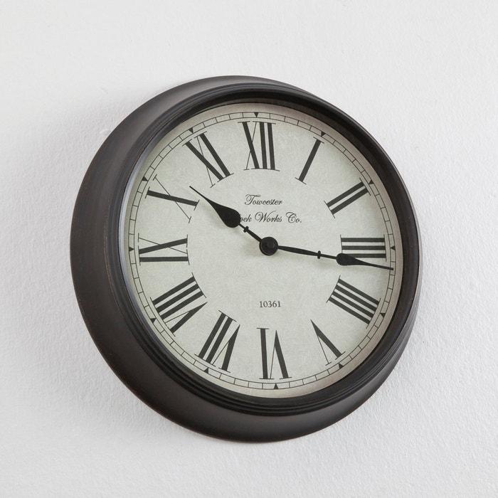 Zivos Retro Clock with Roman Numerals.
