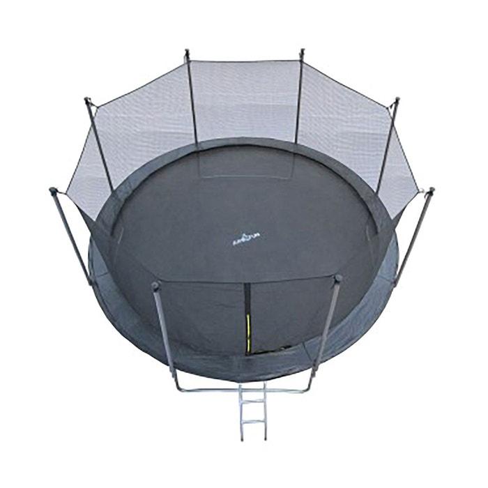 Trampoline JUMP4FUN 12FT - 366cm - Noir