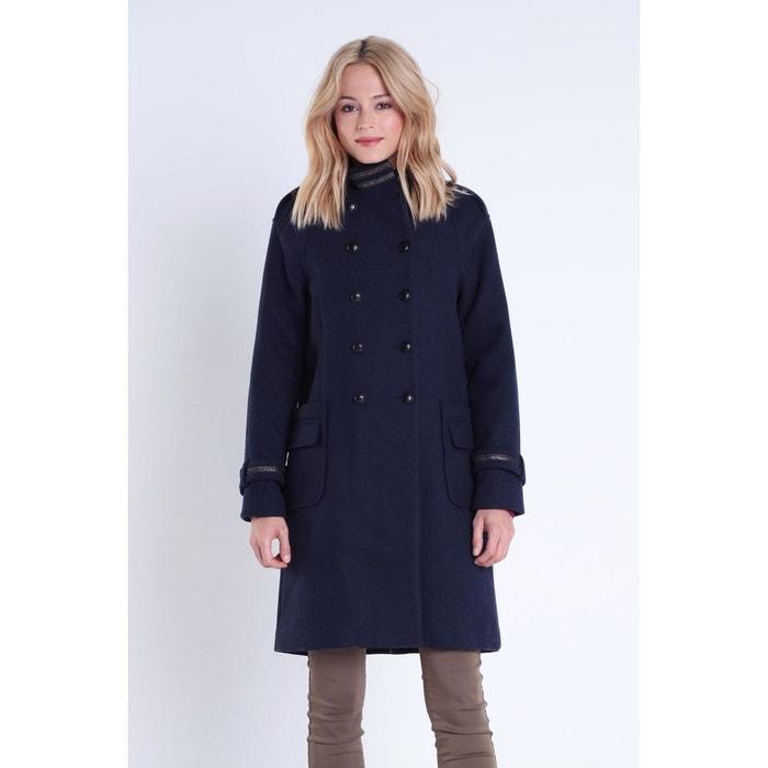 magasin britannique meilleur en ligne prix incroyables Manteau officier col montant