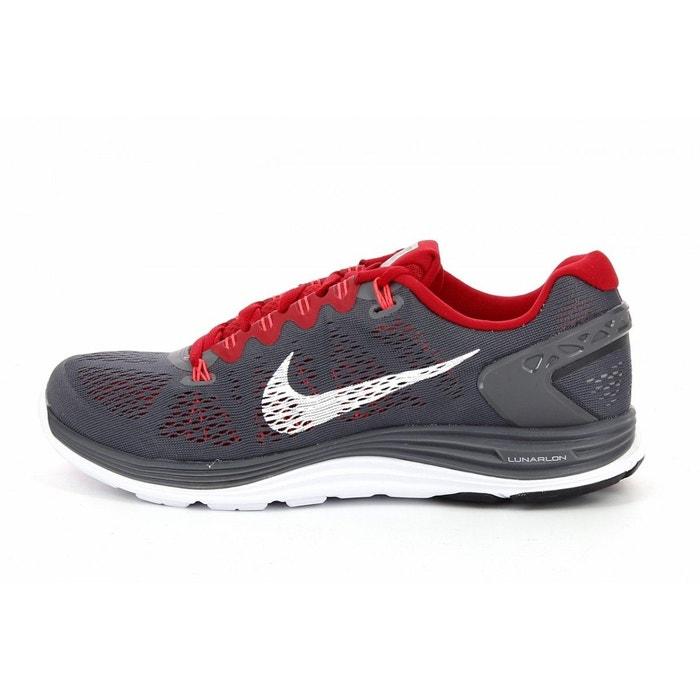 Basket nike lunar glide+ 5 - 599160-016 gris Nike