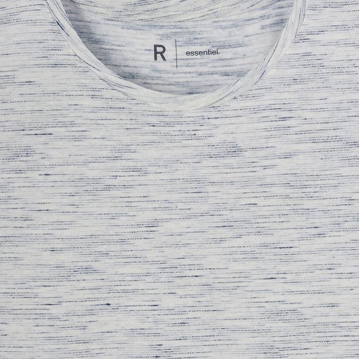 redondo algod de Camiseta 243;n con Redoute Collections cuello La qgPSXS