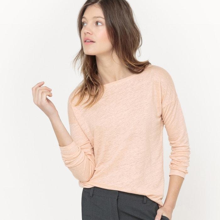Image T-shirt ample, Lin R essentiel
