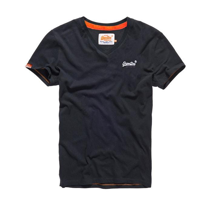 Image T-shirt manches courtes Orange Label Vintage SUPERDRY