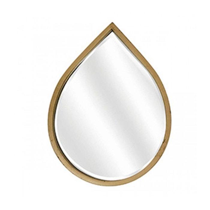 miroir d co m tal dor goutte miroir biseaut dor wadiga la redoute. Black Bedroom Furniture Sets. Home Design Ideas