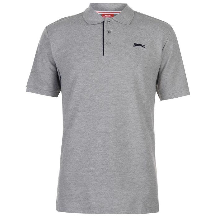 00ebc83ed7e50 Polo t-shirt couleur unie Slazenger