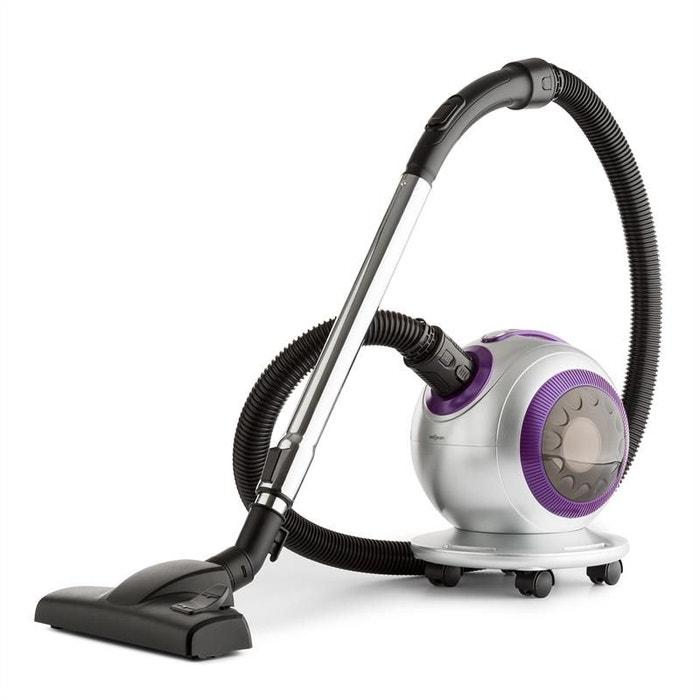 oneconcept pila aspirateur sans sac 800w filtre hepa 18 kpa gris lilas oneconcept la redoute. Black Bedroom Furniture Sets. Home Design Ideas