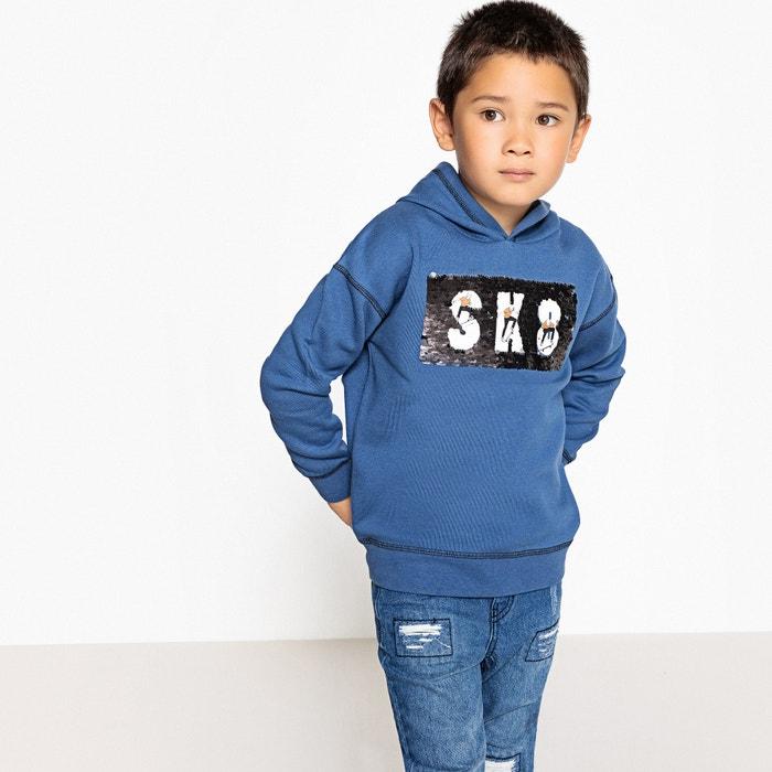 Reversible Sequin Sweatshirt, 3-12 Years  La Redoute Collections image 0