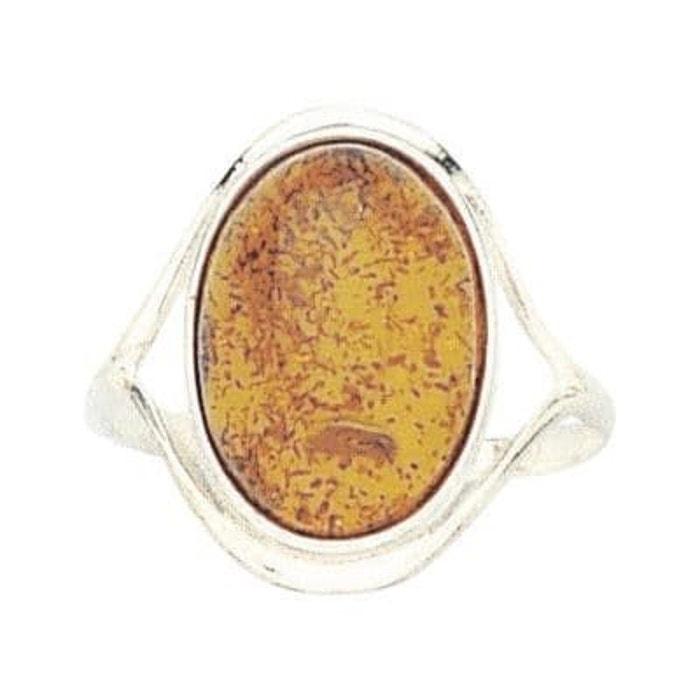 Le Plus Grand Fournisseur De Sortie 2018 Nouveau À Vendre Bague anneau joaillerie ambre 17 mm argent 925 couleur unique So Chic Bijoux | La Redoute UUktSg