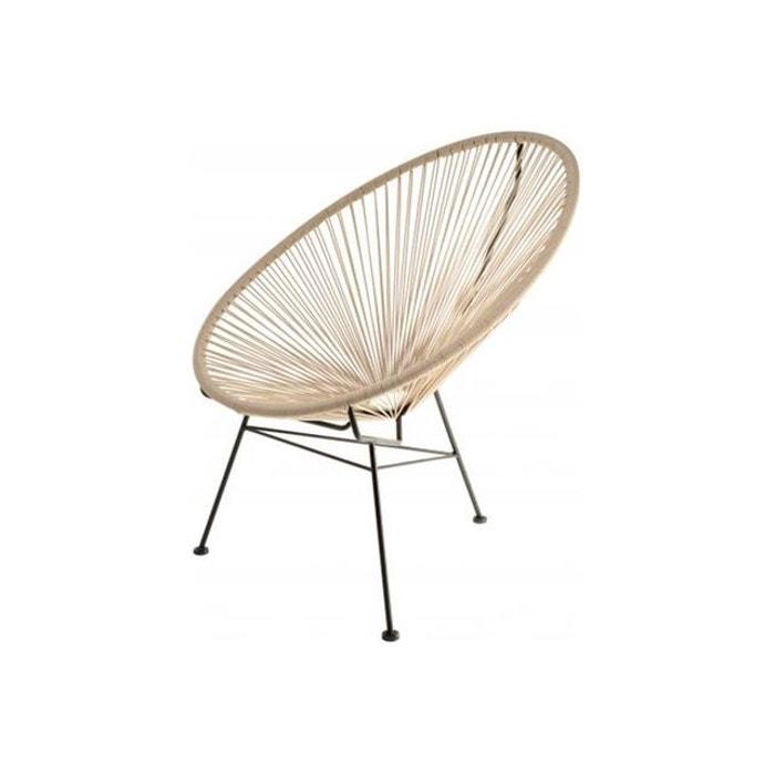 fauteuil zimaculto taupe gris la chaise longue la redoute. Black Bedroom Furniture Sets. Home Design Ideas