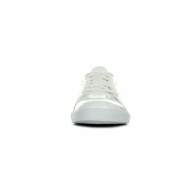 Baskets femme agate lo patent optical white blanc Le Coq Sportif