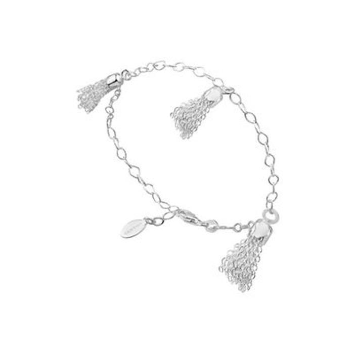 Bracelet chaînettes en argent 925 passivé, 4.32g argent Canyon   La Redoute