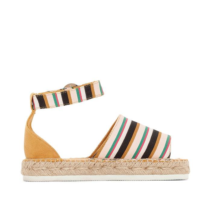 Sandálias com rasto de corda La Redoute Collections