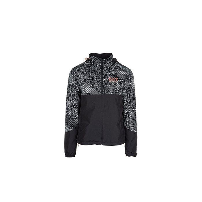 Veste ventus 7 m jacket graphic noir Emporio Armani Ea7   La Redoute aff5b45d7b7