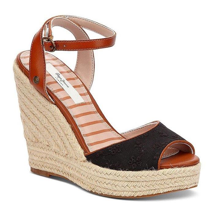 Sandales compensées Walker PEPE JEANS