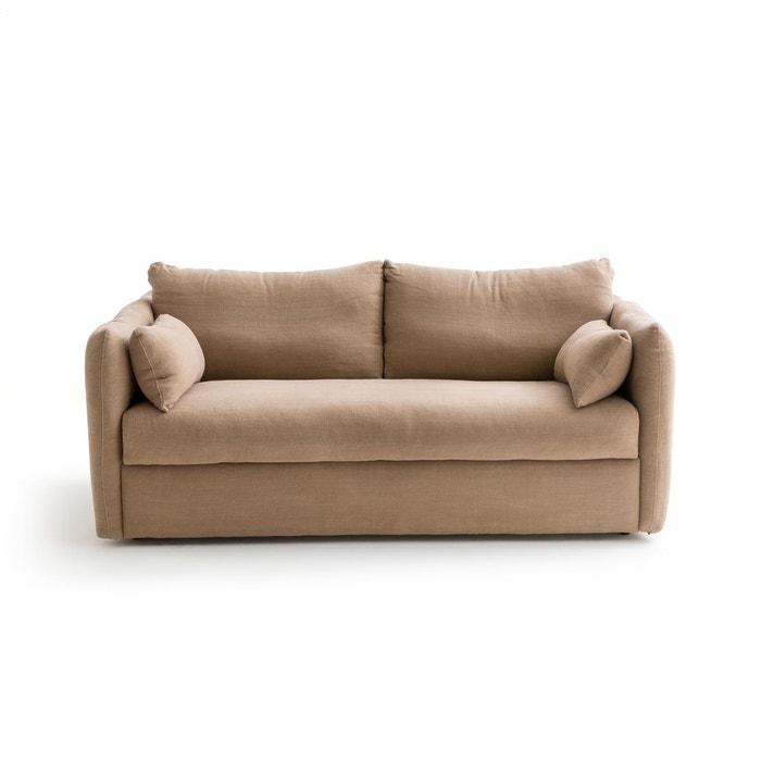canap convertible lin pais picure chanvre am pm la redoute. Black Bedroom Furniture Sets. Home Design Ideas